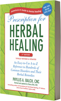 Image of the book Prescription for Herbal Healing