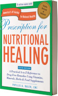 Image of the book Prescription for Nutritional Healing