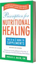 Image of the book Prescription for Nutritional Healing: The A-to-Z Guide to Supplements